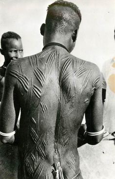 "Africa | ""Scarification"" 