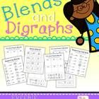 This freebie contains work for blends and digraphs, including beginning sound, word identification and cut and paste sorts.  Enjoy and please leave feedback if you like this product- it inspires me to make more freebies!