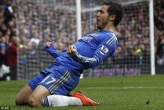 Hazard warning: The Chelsea star is a top player - shame about the corners