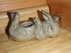 Partylite Bunny Rabbit Tea Light Ceramic Candle Holder