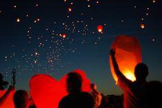 Floating Candle Lanterns