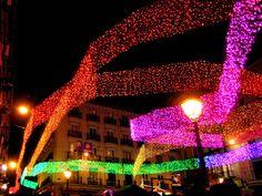 Las luces por Navidad en Madrid 2013 (Chueca)