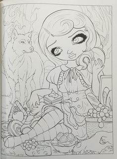 Amazon.com: Jasmine Becket-Griffith Coloring Book: A Fantasy Art Adventure (9780738750019): Jasmine Becket-Griffith: Books