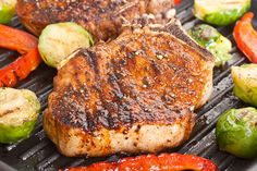 This grilled pork chops are so simple to prepare and very tasty. You got to try it! It will take you only 5 minutes to prepare them and 10 to cook. Isn't i