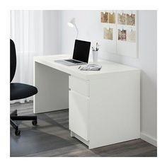 MALM Työpöytä - valkoinen - IKEA