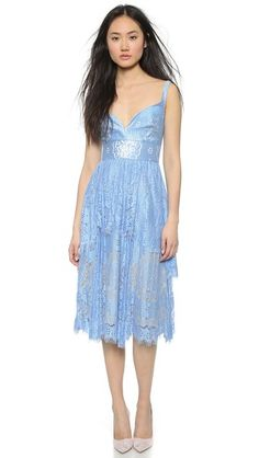 Lover Heather Sweetheart Dress #Shopbop
