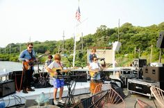 The Henry Millers performing at Pop Up Weekend at The Surf Lodge.