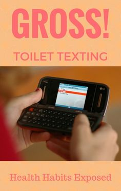 Are you guilty of texting while sitting on the toilet? You're not alone! With the help of his audience, Dr Oz caught a few people taking part in some pretty gross health habits!
