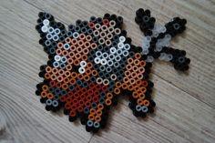 128 Tauros - Perler Beads by Vicsene pokemon