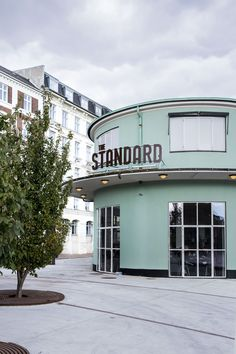 The Standard - cool restaurant by the harbour in central Copenhagen