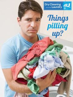 Busy week? Bring your clothes into DC4U and we will take care of them for you with our quality services and years of experience.
