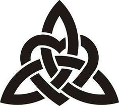 CELTIC TRINITY KNOT HEART - I want this tattooed on my wrist with the look of old stone