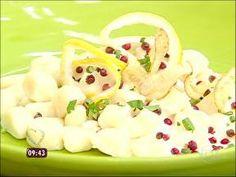 Nhoque - molho de limão siciliano e creme de leite