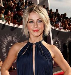 Julianne Hough Best Short Choppy Hairstyles