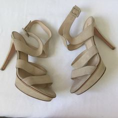 Gianvito Rossi Strappy Heels Very good condition 👍💖 Gianvito Rossi Shoes Heels