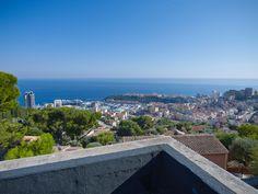 Terrace view onto the Principality of #Monaco