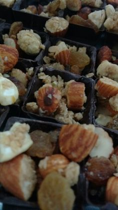 Nutty cups..