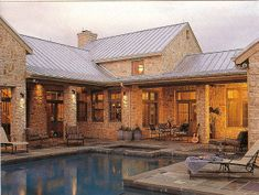 renovating ranch style homes exterior | TEXAS REGIONAL DESIGN: HILL COUNTRY RANCH