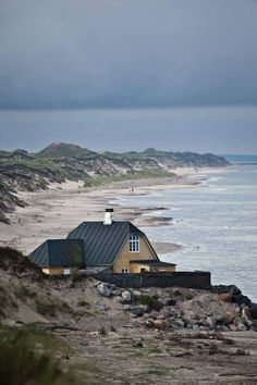 The seaport of Skagen, known for its expansive undulating sand dunes (photo credit: Kim Wyon / VisitDenmark).