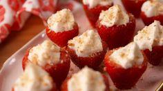 Strawberry Shortcake Jell-O Shots  - Delish.com