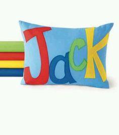 Cute name pillow diy