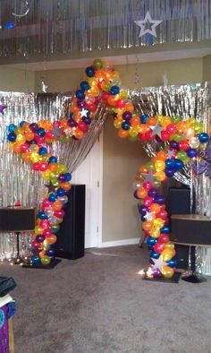 Star Balloon Arch