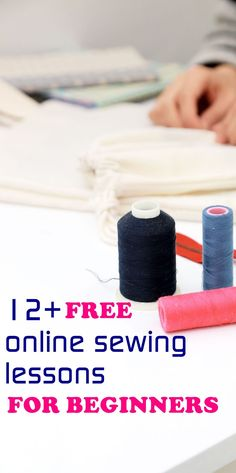 sewing for beginners | beginner sewing lessons | how to sew