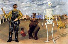 Cuatro habitantes frida kahlo