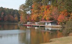Visitors can rent paddleboats and canoes at Big Lake at William B. Umstead State Park.