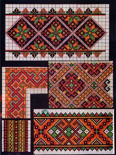 ukrainian folk embroidery: Kolotylo 141: