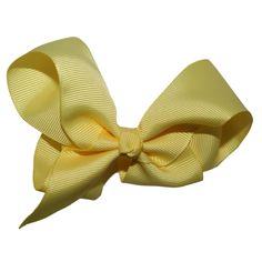 Yellow Hair Bow
