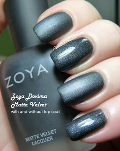 Zoya MatteVelvet Re-Issues - Swatches and Review | Pointless Cafe