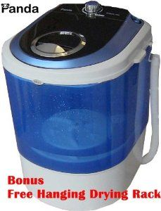 Panda Compact Washer for small loads of delicates (less of a work-out then the plunger idea!)
