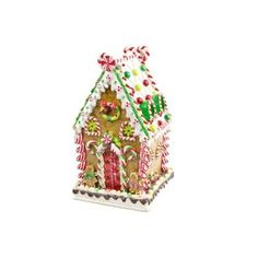 Gingerbread House with LED Lights http://shop.crackerbarrel.com/Gingerbread-House-with-LED-Lights/dp/B005SGA9L6