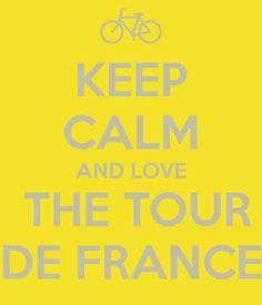 KEEP CALM AND LOVE THE TOUR DE FRANCE - Grand Départ Utrecht 2015