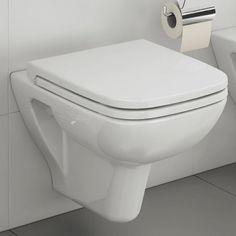 VitrA S20 Compact Wall Hung WC : UK Bathrooms Budget Bathroom, Bathroom Renovations, Small Bathroom, Bathroom Ideas, Semi Recessed Basin, Inset Basin, Vitra Bathrooms, Indigo Walls, Cloakroom Basin