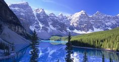 canada's bueatiful mountains...would love to visit!