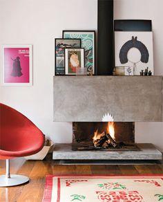 modern fireplace #fireplace #decor