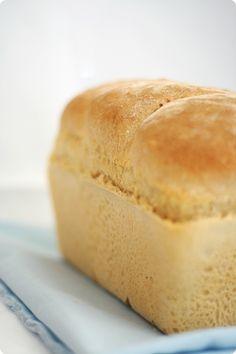 Fluffy White Sandwich Bread Recipe Meals Pinterest Sandwich