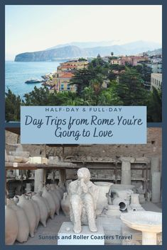 Rome is amazing but even on your first visit, you need to explore outside the Eternal City. A day trip from Rome can be cultural, historic or even relaxing. The choice is yours! Visit the incredible remains of Pompeii or Herculaneum, wander the Amalfi Coast, hop on a train to Florence or Bologna .... there are so many options!! #rome #italy #travel #rometravel #visititaly #romedaytrips #italytravel #pompeii #ancientrome #herculaneum #amalficoast #florence #orvieto #tivoli #europetravel