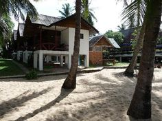 Where we stayed in Chaweng, Koh Samui. Cheap, clean, and good food. Right on a beautiful beach looking toward Koh Phangan.