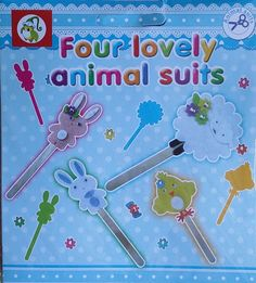 Pop Stick Animal Suits - KidsnCrafts Online Store Craft Projects For Kids, Crafts For Kids, Pop Stick, Suits, Store, Animals, Home Decor, Crafts For Children, Animales