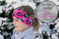 DIY Fleece Ear Warmer