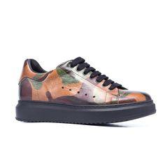 GUIDOMAGGI Takeshita Street Leather Sneakers