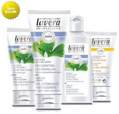Lavera Skin Care Kit For Normal/Combination Skin at www.couponcutoff.com