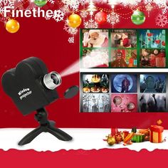 Christmas Halloween Movies Displays Window Projector Xmas Projection Light Stage Lighting Effect for Holiday Festival Features: Halloween Halloween Window Projector, Christmas Projector, Halloween Movies, Halloween Christmas, Kids Christmas, Christmas Deals, Outdoor Halloween, Holiday Movie, Light Project