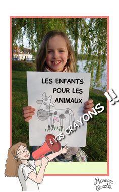 Appel à dessins des enfants pour les animaux - Maman Carotte