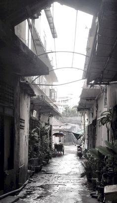 Quiet area in Bangkok