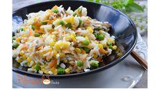 Cozinhar diariamente e agradar os diferentes paladares da família é bem difícil. Por isso, gosto de mostrar novas possibilidades como esse arroz colorido.