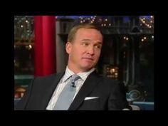 ▶ Peyton Manning interview on David Letterman - May 05, 2014 - YouTube --  #ProFootballDenverBroncos
